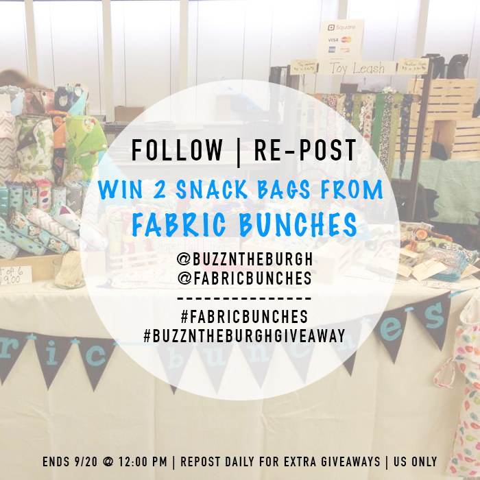 Fabric Bunches – Giveaway