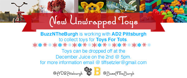 Christmas Toy Drive Announcement