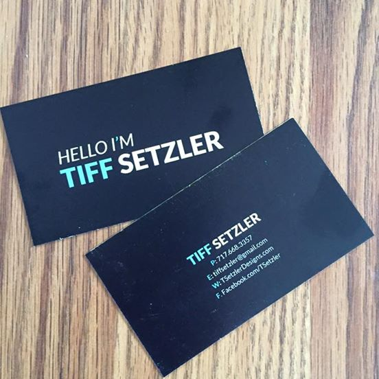 Hello I'm Tiff Setzler