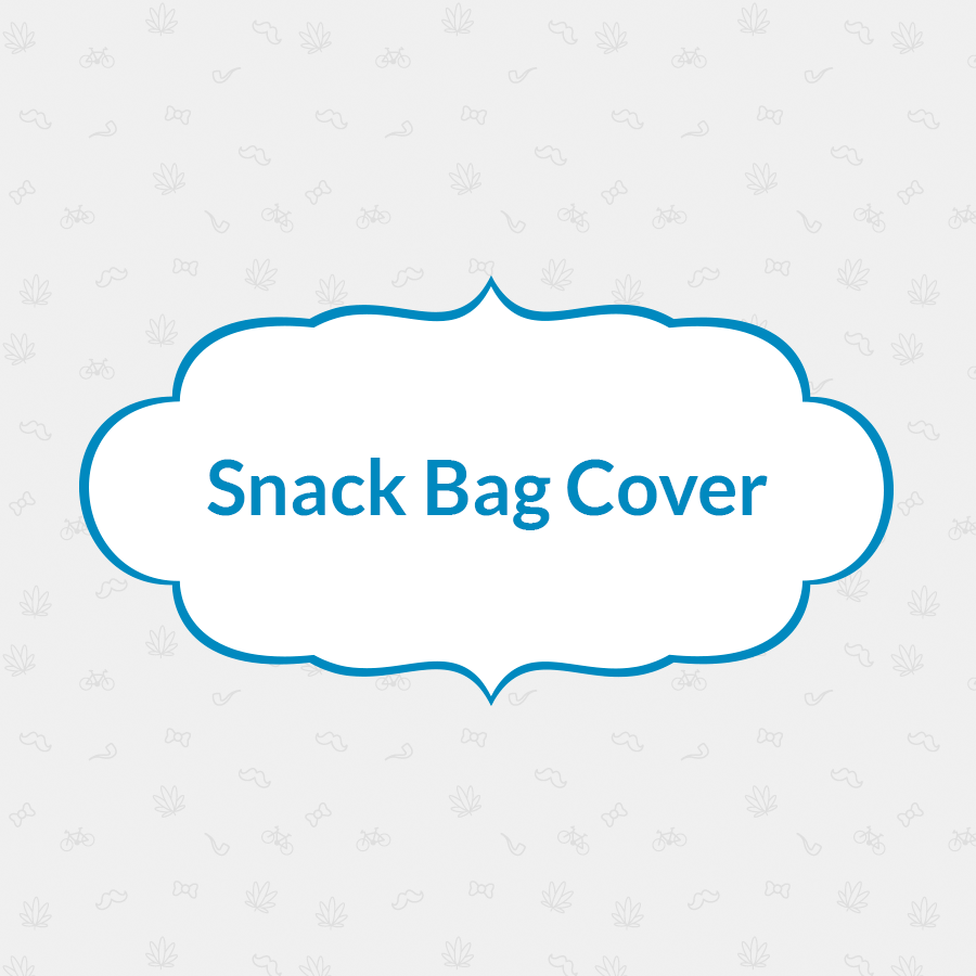 Snack Bag Cover