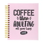 Coffee Then Adulting Planner