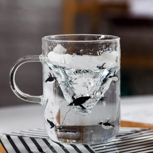 Penguin Swimming Mug