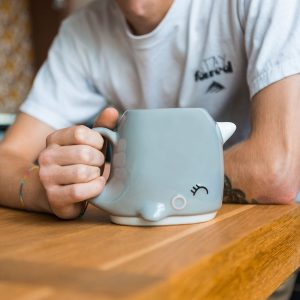 Narwhal Shaped Mug