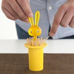 Magic Bunny Toothpick Holder