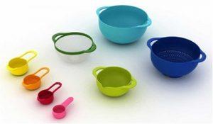 8 Nesting Bowls Set