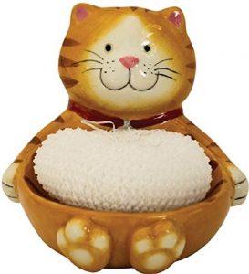 Cat Scrubby Holder
