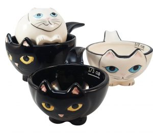 Cat Nesting Measuring Cups