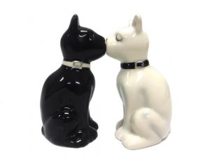 Cat Kissing Salt & Pepper Shaker