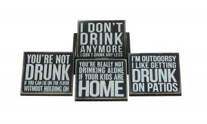 Bar Saying Coasters