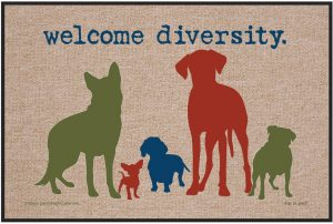 Welcome Diversity - Door Mat