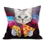 Pizza Cat Pillow Case