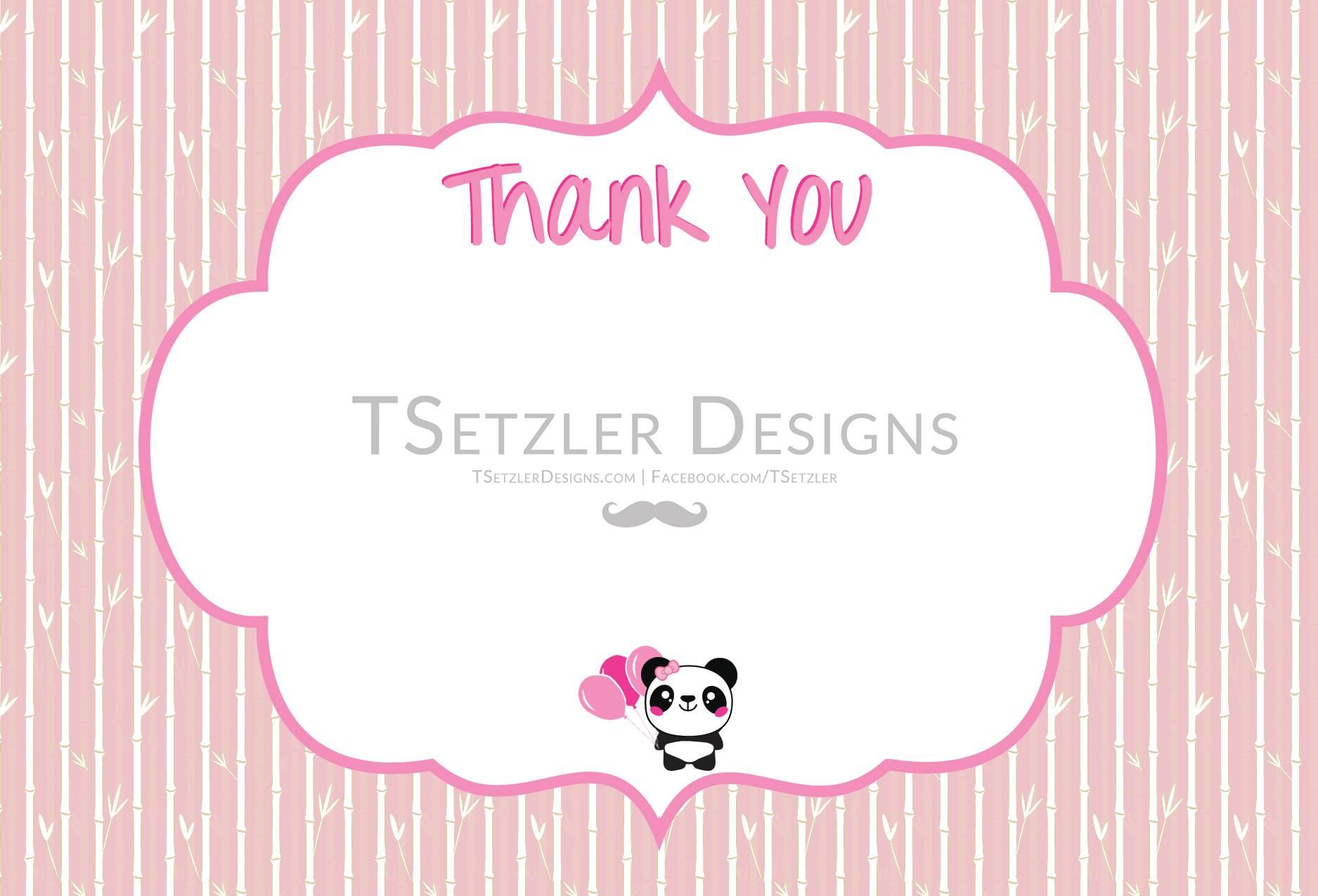Panda Thank You