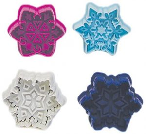 Snow Flake Cookie Stamp