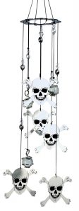 Skull & Crossbones Wind Chime