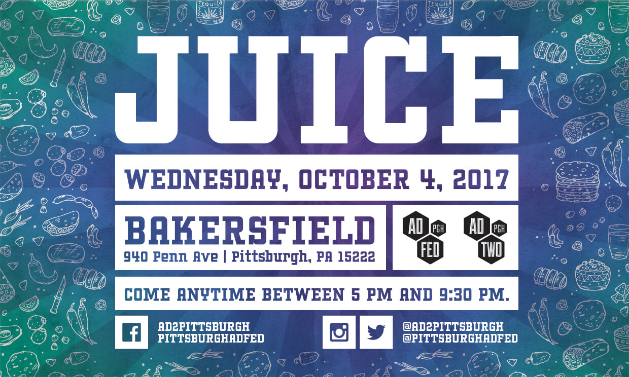 Ad 2 Pittsburgh October JUICE