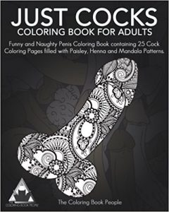 Just Cocks Adult Coloring