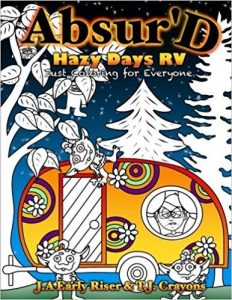 Hazy Days RV Adult Coloring