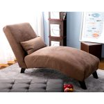 Merax Fabric Chaise Lounge Chair