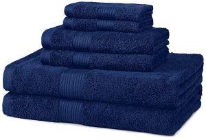 Fade-Resistant Cotton 6-Piece Towel Set