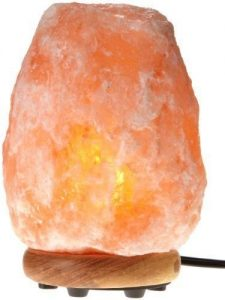 Himalayan Hand Carved Pink Crystal Salt Lamp