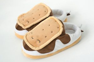 S'mores Heated Slippers