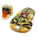 Cat Eating A Bird Oven Mitt