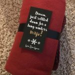 Blanket Gift Tags