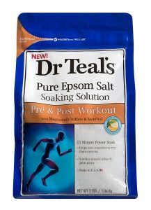 Dr Teal's Pure Epsom Salt Soaking Solution, Pre & Post Workout