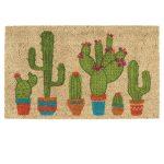 DII Cactus Door Mat