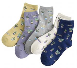 papala cactus Socks