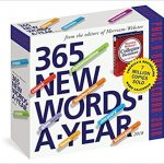 Merriam-Webster 365 New Words-A-Year Page-A-Day Calendar 2018