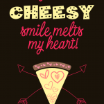 Cheesy Valentine Tag