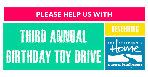 3rd Annual Birthday Toy Drive