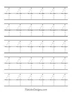 Tracing Number 4 - TSetzlerDesigns