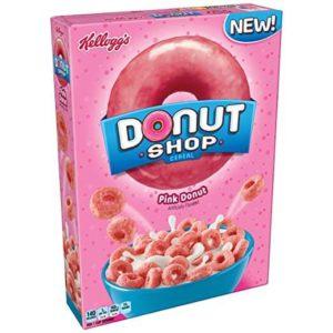 Kellogg's Donut Shop Breakfast Cereal