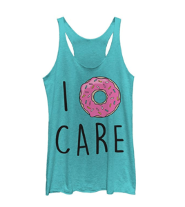 Chin-Up Apparel I Donut Care Tank Top