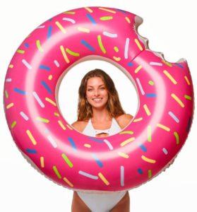 Floatie Kings Donut Pool Float
