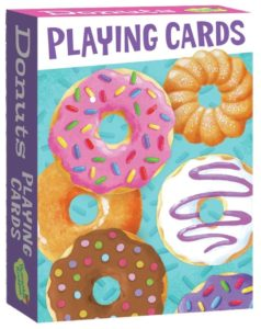 Peaceable Kingdom Assorted Donuts Playing Card