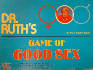 Dr. Ruth's Game of Good Sex - Board Game