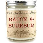 Bacon & Bourbon Man Candle